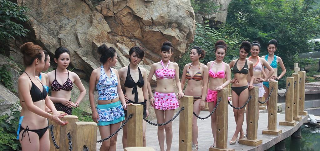 青岛茶山风景区杯世界旅游小姐